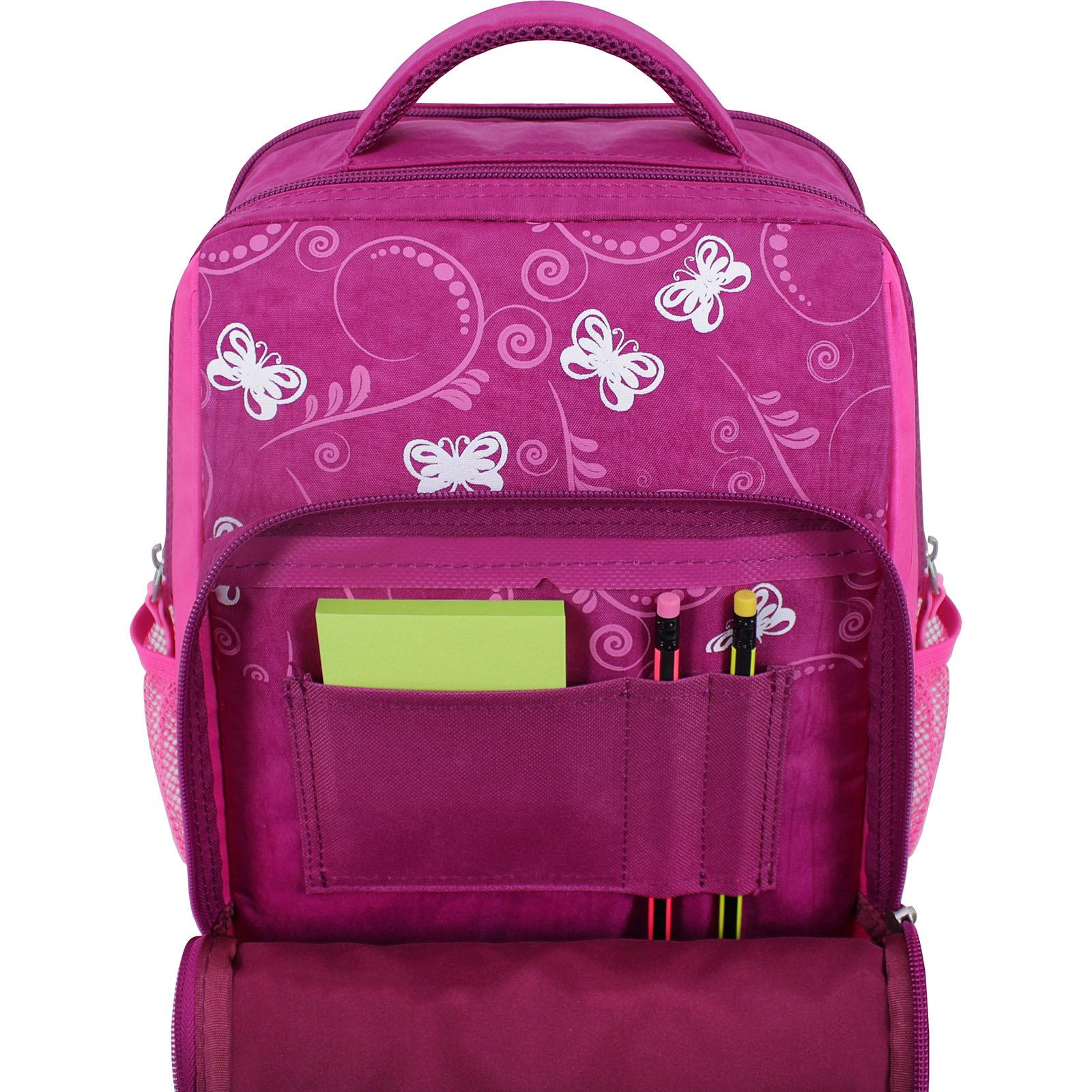 Рюкзак школьный Bagland Школьник 8 л. 143 малиновый 615 (0012870) фото 4