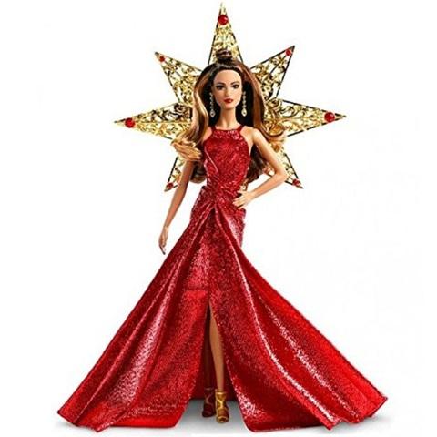 Барби Новогодняя Коллекция 2017 Брюнетка Сирена