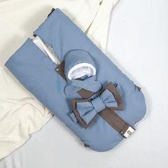 СуперМамкет. Конверт-одеяло всесезонное Мультикокон ®, Soft, blue stone вид 5