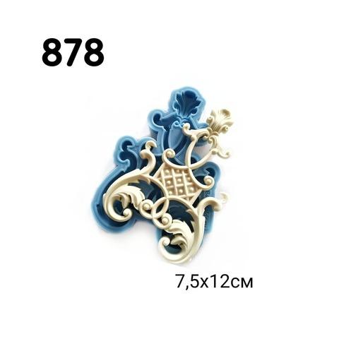 Молд Накладка 7,5х12см, Арт.PO-0878, силикон