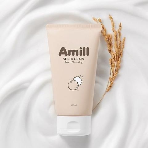 AMILL SUPER GRAIN FOAM CLEANSING Пенка очищающая