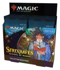 Дисплей коллекционных бустеров «Strixhaven: School of Mages» (на английском)