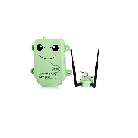 Усилитель Wi-Fi сигнала бустер 2400-2500МГц SZHUASHI HS2405CW 5W 3X (Зеленый)