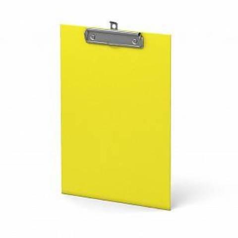 Планшет ERICH KRAUSE NEON А4 вертик. картон  желтый