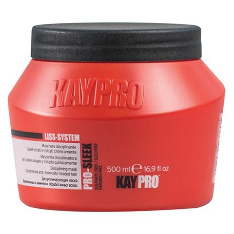 Разглаживающая маска для выпрямленных и химически обработанных волос,KayPro,500 мл