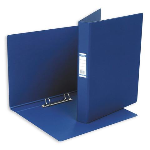 Папка на 2-х кольцах Bantex 35 мм темно-синяя до 220 листов