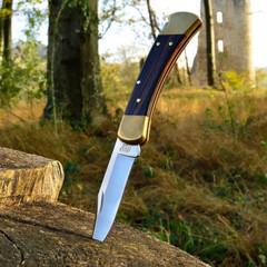 Складной нож BUCK 0110BRS Folding Hunter