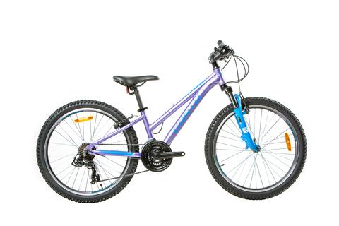 Подростковый велосипед Corto Star 2021 фиолетовый