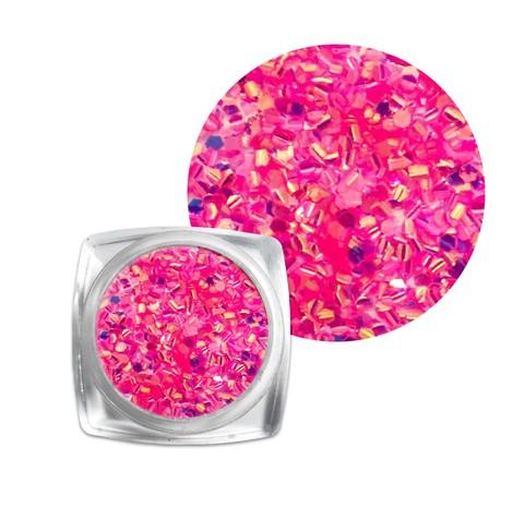 Чешуя для дизайна розовая купить за 150руб
