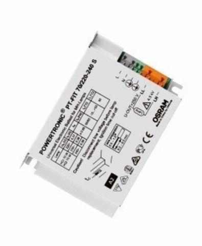 ЭПРА для металлогалогенных ламп OSRAM POWERTRONIC PT-FIT 70/220-240 S