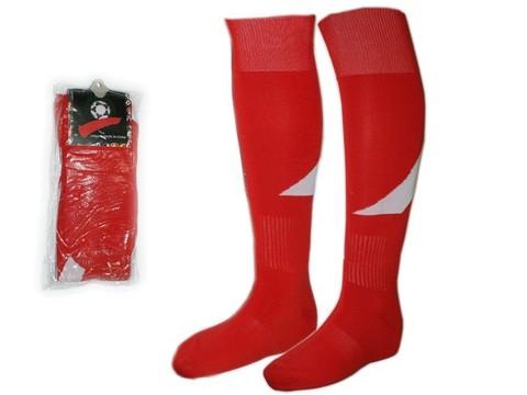 Гетры футбольные. Цвет: красный. Размер: 40-44. K-R