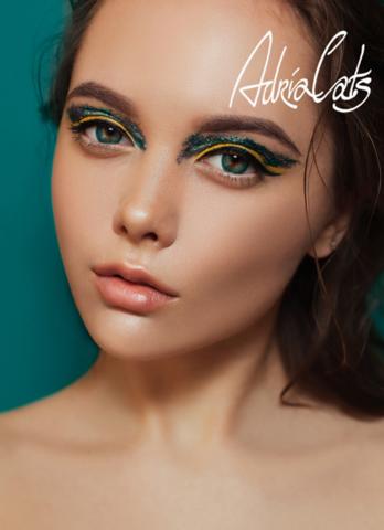 Adria Color 2 Tone Turquoise