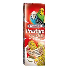 Лакомство для волнистых попугаев Versele-Laga Prestige, палочки с яйцом и ракушечником