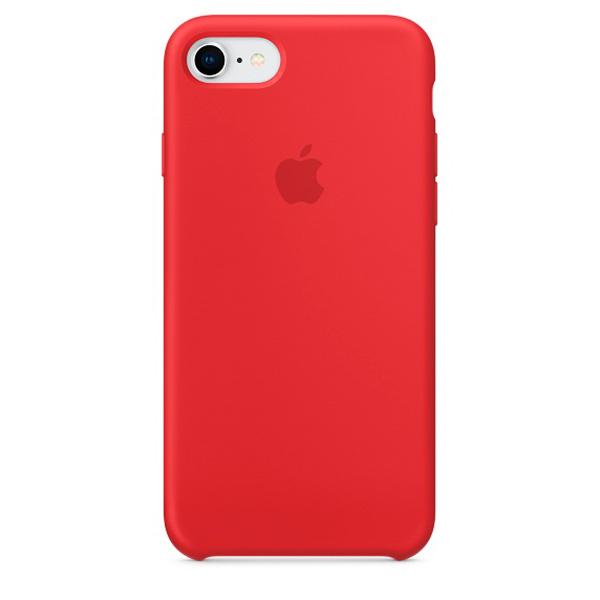 Чехол Apple iPhone SE 2020/7/8 Silicone Case Red (14)
