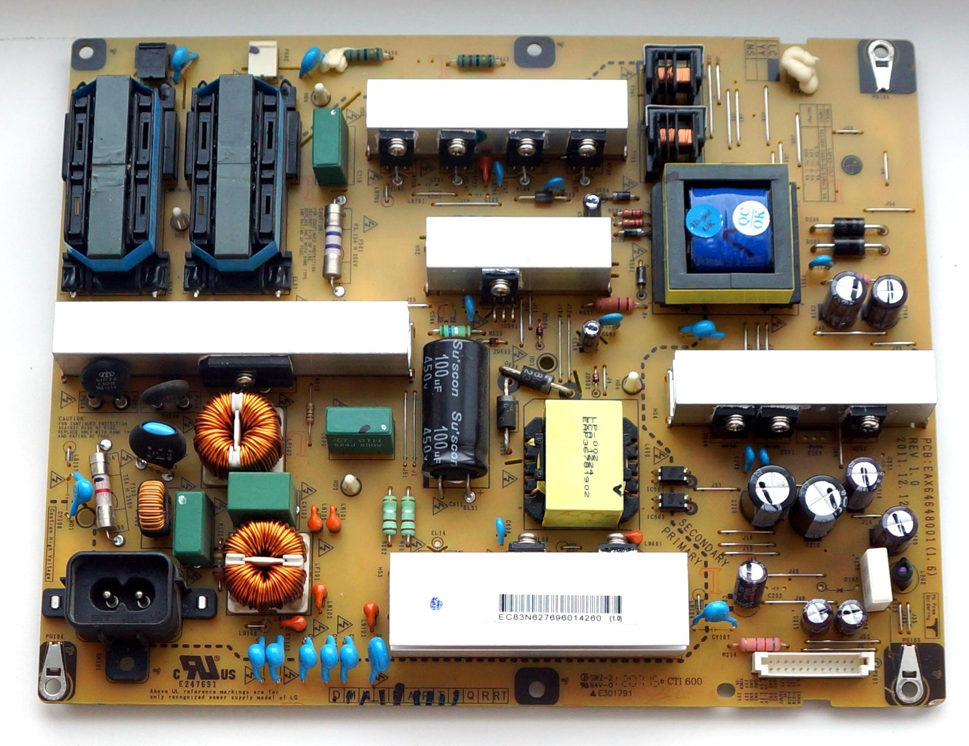 EAX64648001(1.6) REV1.0 LGP42-12LF