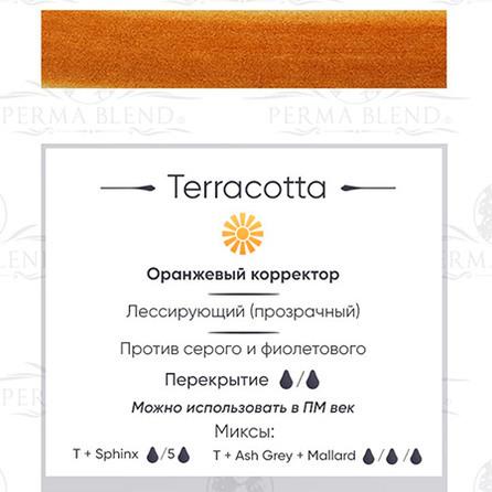 """TERRA COTTA"" пигмент для бровей Permablend"