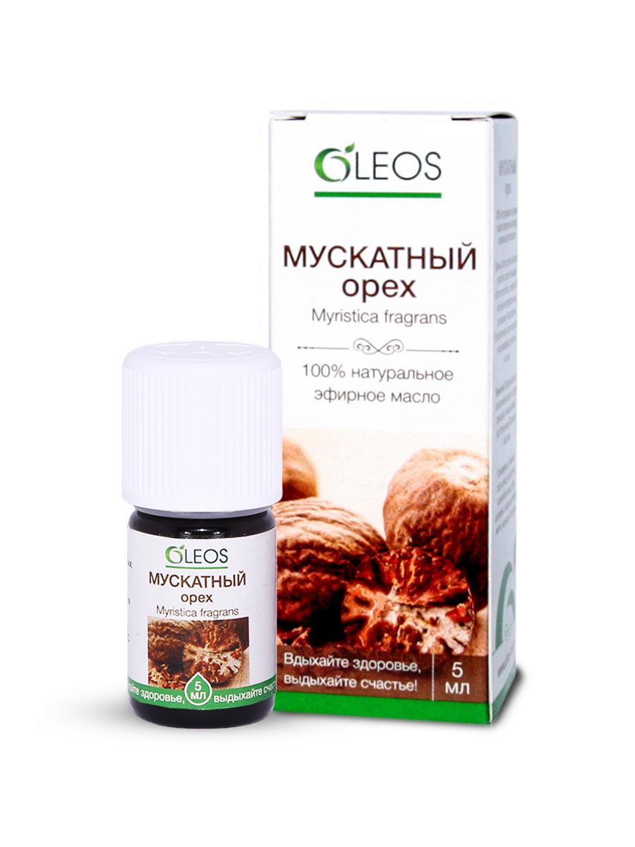 Эфирное масло Мускатный орех Oleos