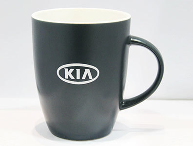 Керамическая кружка Kia Logo Ceramic Mug, Black