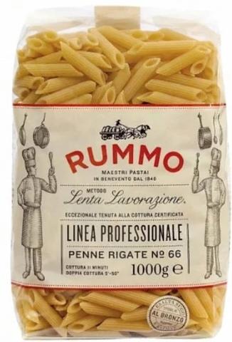 RUMMO Макароны Linea professionale Penne rigate №66, 1000 г