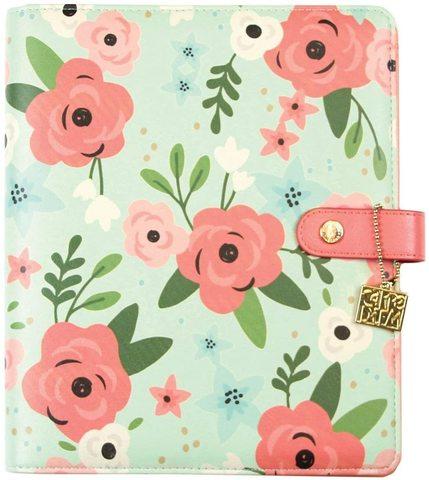 Планер-ежедневник без наполнения. Формат A5. Carpe Diem A5 Planner Mint Blossom