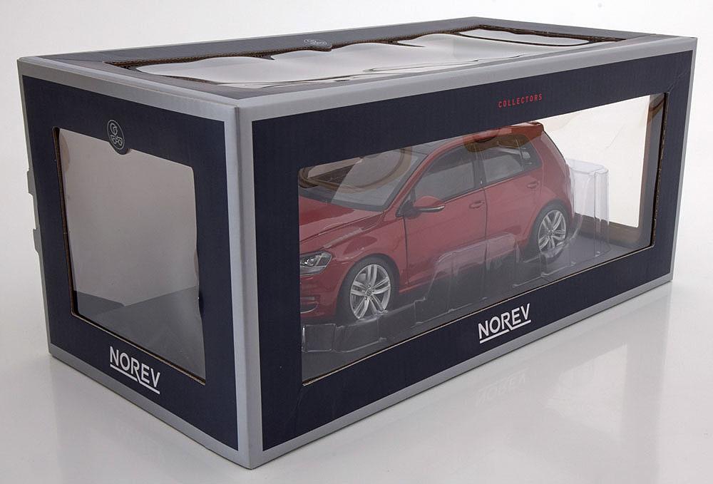 Коллекционная модель Volkswagen Golf 7 2014 Red Metallic
