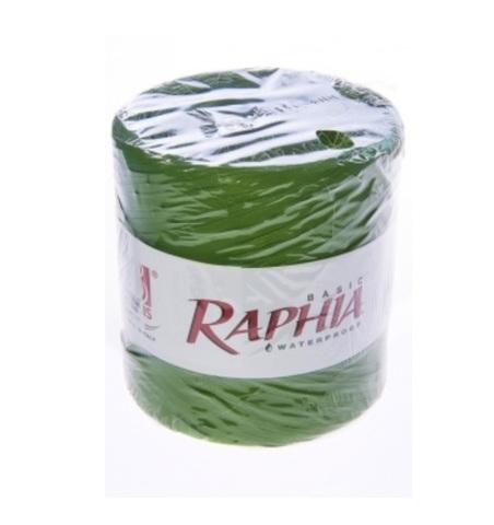Рафия искусственная Италия 200 м Цвет: хаки