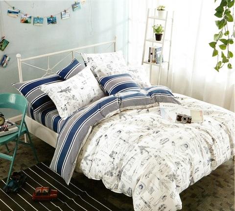 Подростковое постельное белье хлопок 1,5 сп.  FONTA.