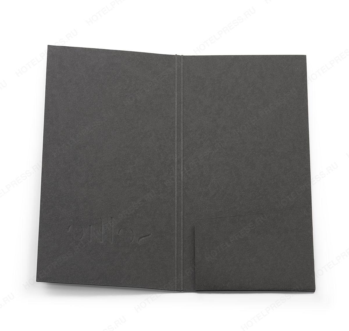Папка-счет из дизайнерской бумаги
