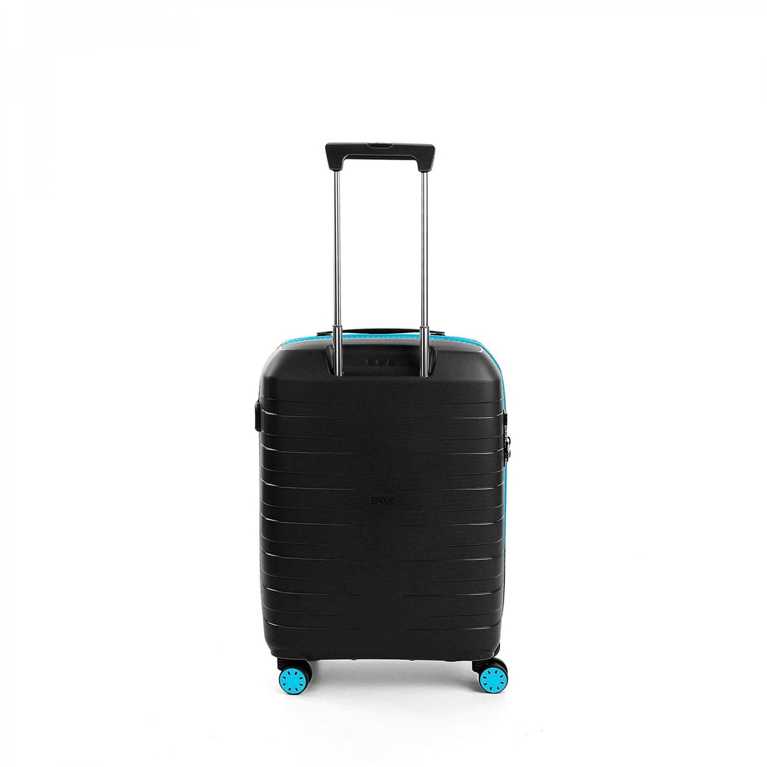 Чемодан пластиковый Roncato BOX YOUNG CABIN LUGGAGE AZZURRO NERO