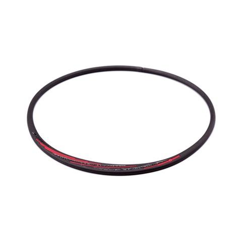 Ожерелье PHITEN RAKUWA NECKLACE S SLASH LINE, черно-красное
