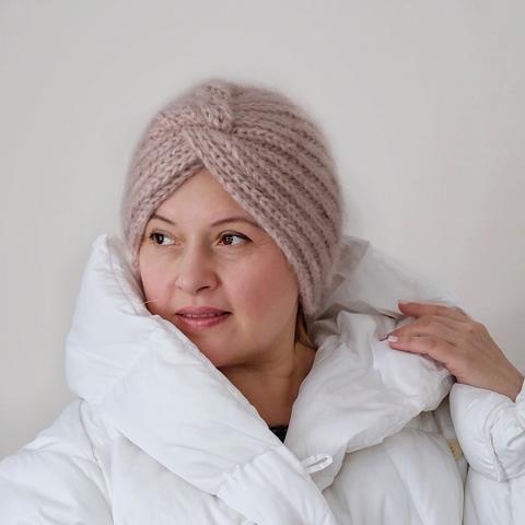 Описание шапки ЧАЛМА (дизайн-студия Трискеле)