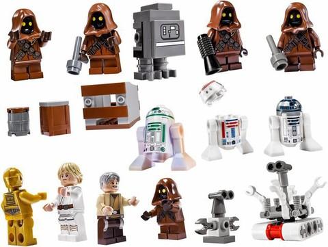 LEGO Star Wars: Песчаный краулер 75059 — Sandcrawler — Лего Стар ворз Звездные войны
