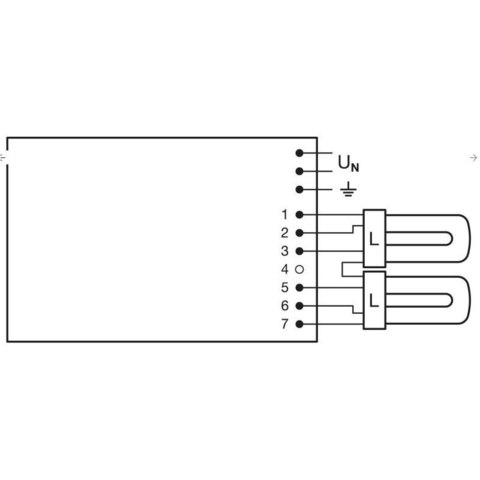 ЭПРА OSRAM QT-M 2x26-42 /220-240 S - QUICKTRONIC® для компактных люминесцентных ламп DULUX D/E  T/E 2x26 - 42