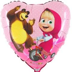 """Сердце """"Маша и Медведь"""""""