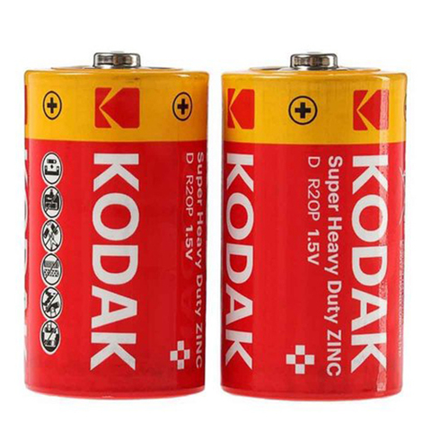 Батарейки Kodak R20, D (2/24/288)
