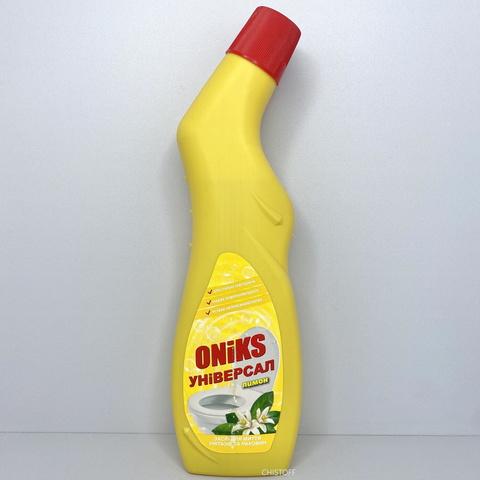 Гель для чистки унитаза Oniks Универсал 750 мл, Лимон