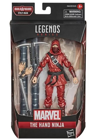 Marvel Legends Series (Into the Spiderverse) : The Hand Ninja
