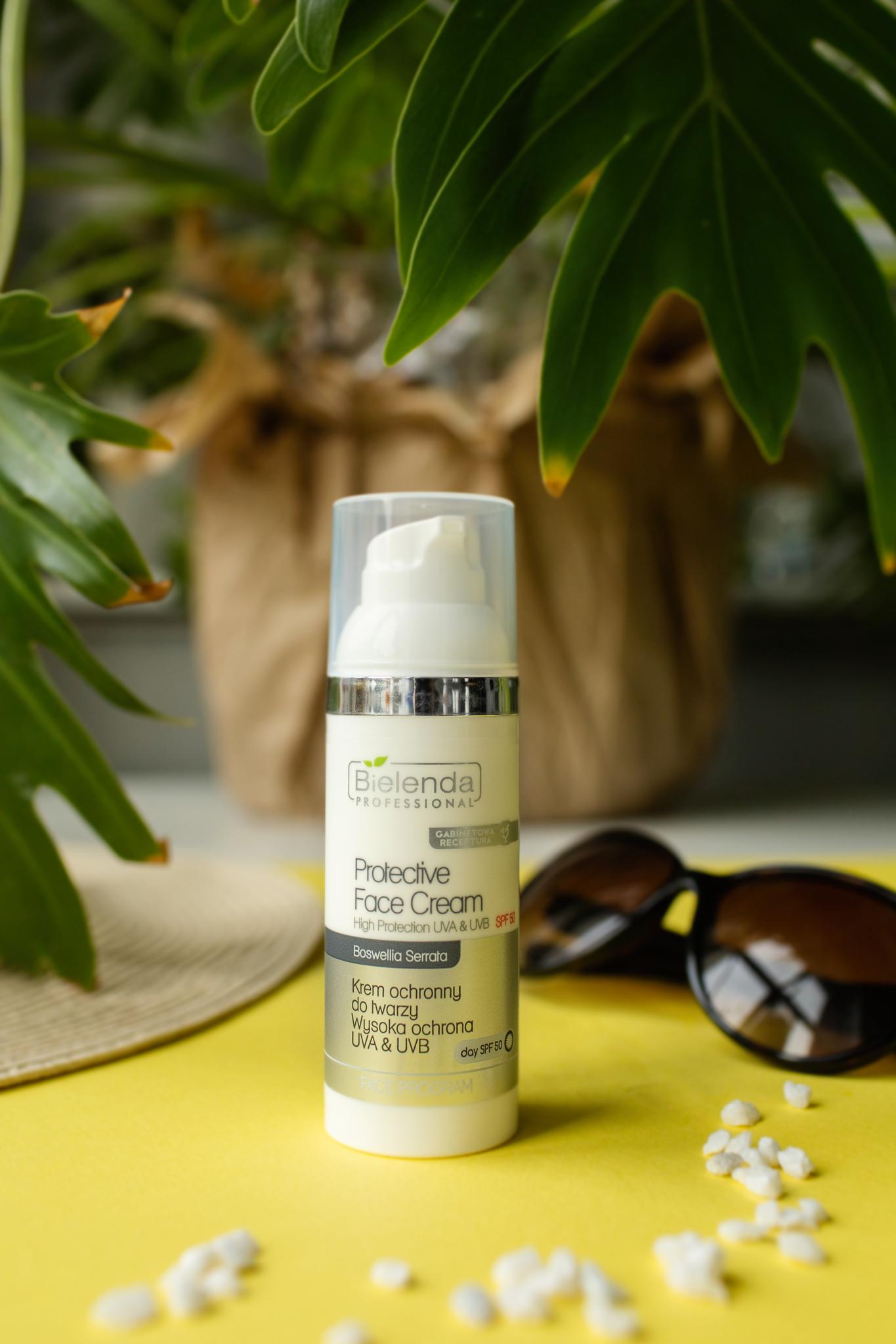 SPF 50  Крем защитный для лица от солнца, SPF 50, 50 мл.