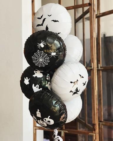 Набор шаров на Хэллоуин №8