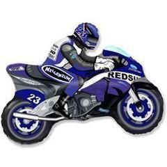 F Мини-фигура, Мотоцикл (синий), 14