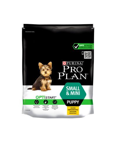 Pro Plan сухой корм для щенков мелких пород (курица, рис) 700 г