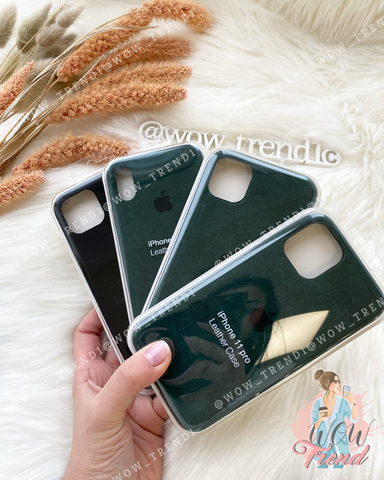 Чехол iPhone XR Alcantara case full /green/