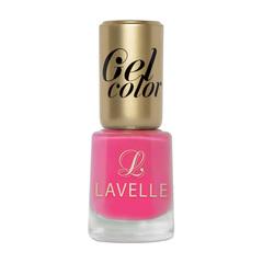 LGC-034 лак для ногтей GEL COLOR тон 034 барби 12мл