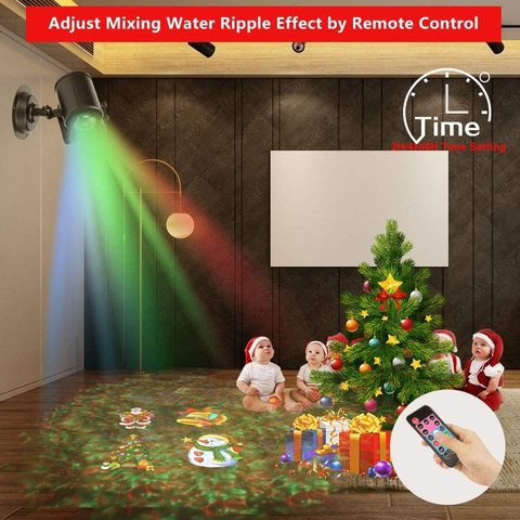 Лазерный проектор Projector With Water Wave Light Style