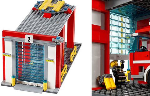LEGO City: Пожарная часть 60110 — Fire Station — Лего Сити Город