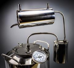 Самогонный аппарат «Премиум2», с термометром и расширенной горловиной, 15 л, фото 10