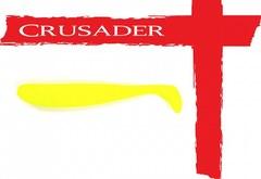 Виброхвост Crusader No.06 80мм, цв.038, 10шт.