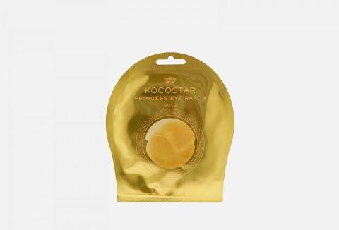 Kocostar Гидрогелевые патчи для глаз Золотые 1 пара / Princess Eye Patch (Gold) Single