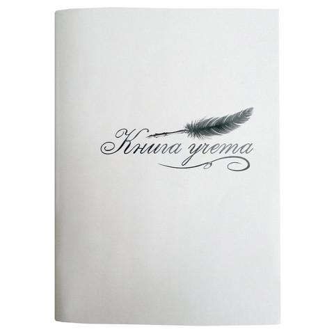 Книга учета бухгалтерская Attache Элементари офсет А4 48 листов в клетку на скрепках (обложка - картон)