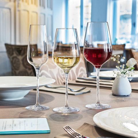 Набор из 6-и бокалов для  вина  350 мл, артикул L2761. Серия Sublym